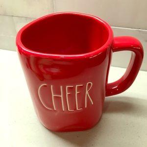 "NWT Rae Dunn ""CHEER"" Mug!"